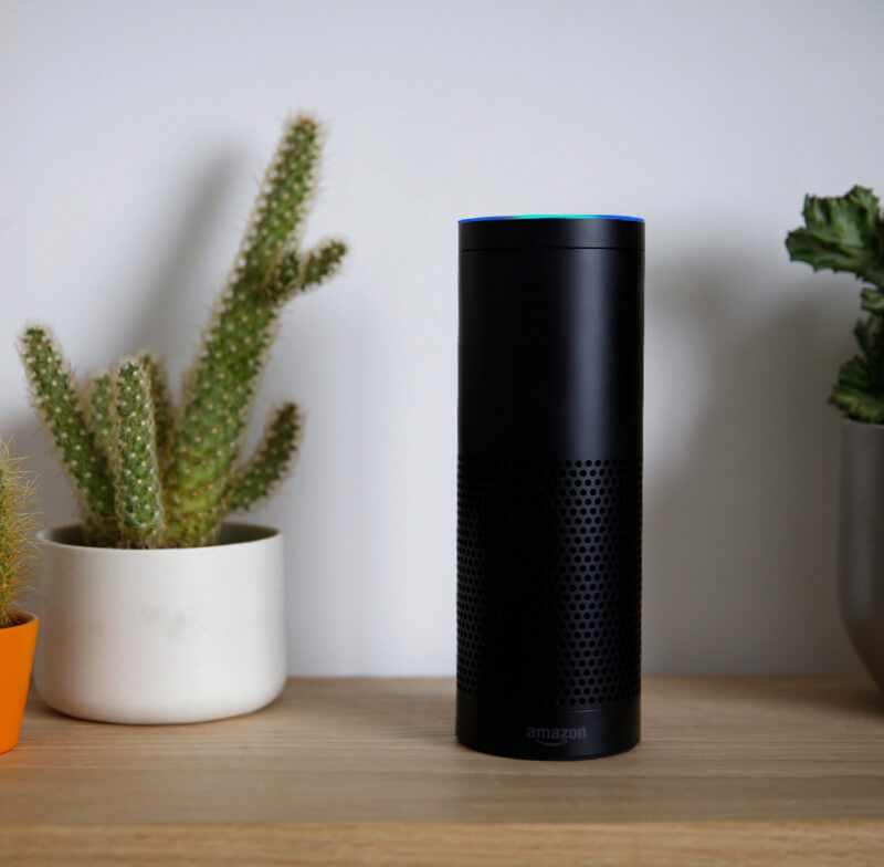Amazon Echo Connected to Vivint