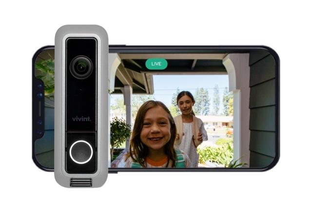 Wireless Video Doorbell Security Camera Vivint Smart Home
